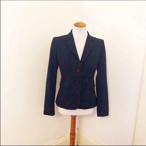 Euc Calvin Klein Navy 2 Button Blazer Sz 2